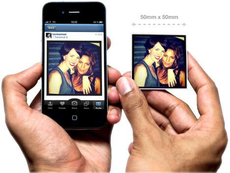 Social Media Magnetization Apps - StickyGram Magnets Turn Digital Memories Cute Memoribilia Items