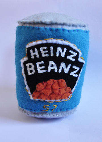 Crafty Canned Goods - The Cornershop by Lucy Sparrow is Made Up of Hand-Sewn Felt Products