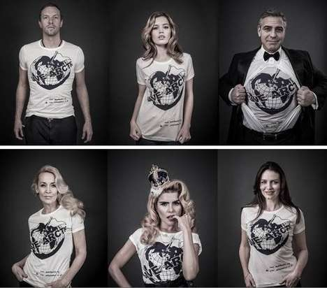 Land-Preserving Fashion Ads - The Vivienne Westwood Save the Artic Campaign Enlists the A-List