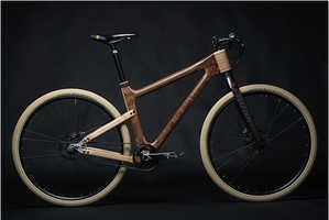 The New AnalogOne.One Wooden Bicycle is Stunning and Artsy