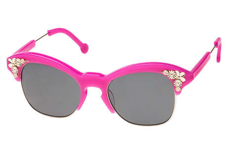Appetizing Eyewear Collections - Feast Your Eyes On the Preen Eyewear Spring 2014 Collection