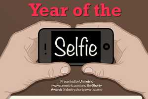 The Year of the Selfie Graphic Examines Successful Selfie Campaigns