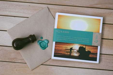 Chic Californian Postage - Gramr Gratitude Co. Cards Revolutionizes Greeting Industry