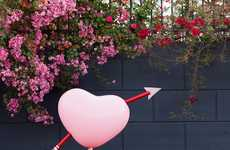 DIY Cupids Heart Balloons