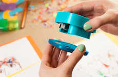 Separating Paper Fasteners - The Align Stapler Has a Detachable Base for Binding Homemade Booklets
