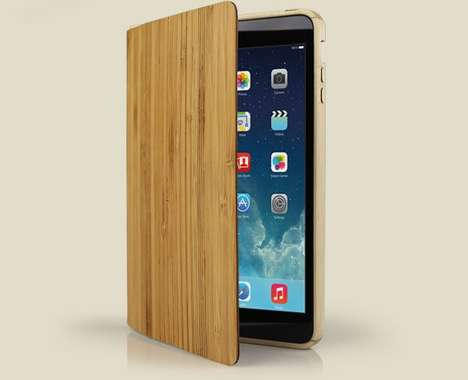 Organic Svelte Bamboo Cases - The New Grove Wood Smart Case is Sleek and Stylish