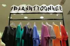 Experimentally Colorful Pop-Up Shops - This Pantone Colorwear Pop-Up Shop is Experimentally Genius