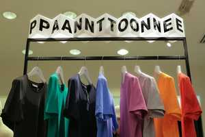 This Pantone Colorwear Pop-Up Shop is Experimentally Genius