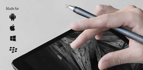 Two-Tipped Implements - The Zen Pen Fulfills Your Artistic Needs for Both Paper and Touchscreens