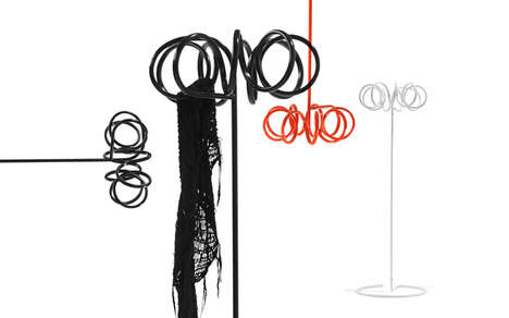 Whimsical Whisk Coatracks - The Visp Clothes Hanger is an Intriguing Sculpture that Offers Utility