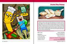 Cartoon-Inspired Cuisine - The Adventure Time Cookbook Features Dishes Inspired by Finn and Jake