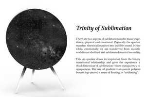 Sublimation B&O A9 Wireless Speaker by Kebei Li is Breathtaking