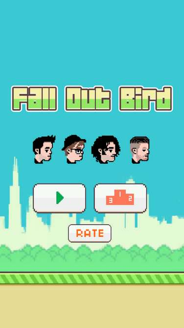 Rock Star Gamer Clones - Fall Out Boy Creates a Clone to the Phenomenon Flappy Bird