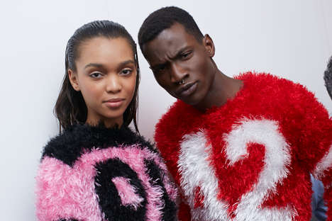 Candidly Convival Backstage Photography - Backstage Snaps of the Jeremy Scott FW 2014 Show are Fun