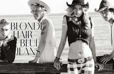 Grayscale Cowboy Editorials