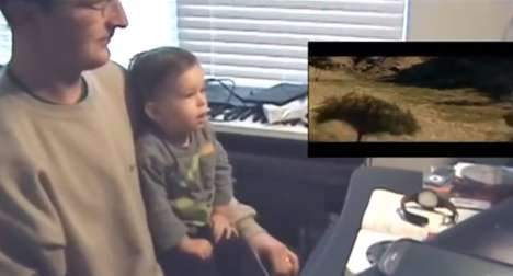Viral First Experience Videos - This Baby Reacts Video Shows a Child