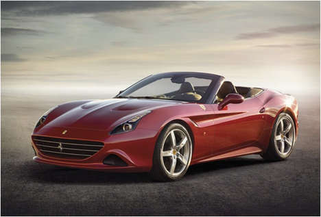 Sporty Retractable-Roof Cars - The Ferrari California T is a Seductively Innovative Ride