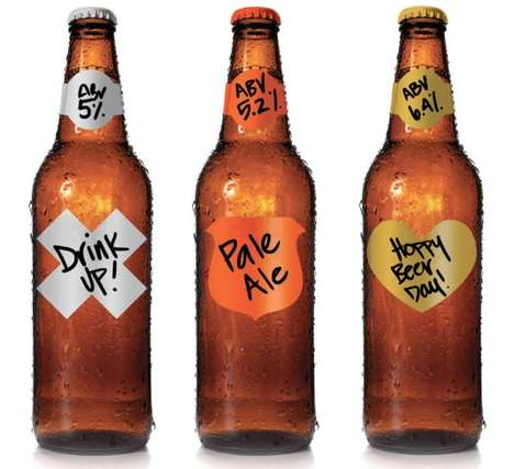 Garage Monk Bottle Labels