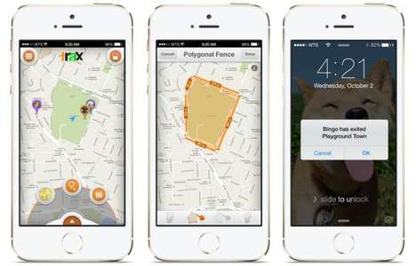 Children-Tracking GPS Services - Trax Lets Parents Track Pets and Children Wherever They Go