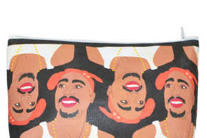 These Celeb Covered Makeup Bags are Made by Kayci Wheatley