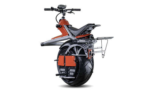 One-Wheeled Motorbikes (UPDATE) - The Ryno Micro-Cycle is a Powerful and Compact Conveyance