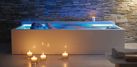 50 Highly Contemporary Bathtubs - These Extremely Modern Bathtubs Take Bath Time to Another Level