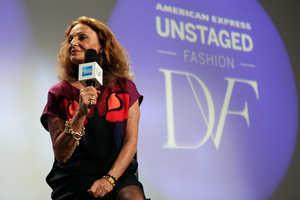 Tech and Fashion Collide at the Diane Von Furstenberg Show