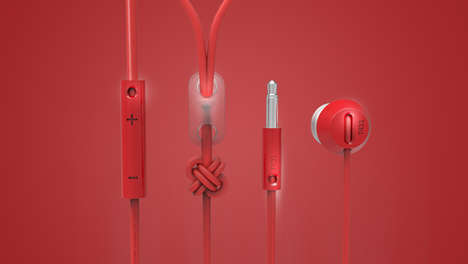 Beautifully Bound Earbuds - The T431 Headphones Were Influenced by the Lessons of Fashion Design