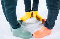 Sleek Nordic Rain Boots