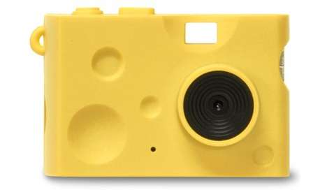 Tiny Cheese Cameras - This Camera from Chobi Cam Cheese Takes Photos That are Anything but Cheesy