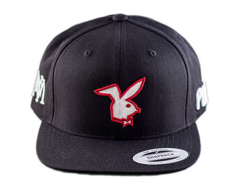 Romantic Monogram Snapbacks - These Streetwear Valentine's Day Snapbacks are a Great Gift
