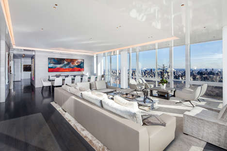 Glass Case City Apartments - An Upper West Side Apartment Features Outstanding Views