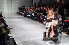 Inspirational Wheelchair Fashion Models - Danielle Sheypuk is the First-Ever Wheelchair Model