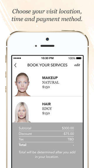 Beauty Appointment Apps - The Vênsette App Enables Users to Order Beauty Services