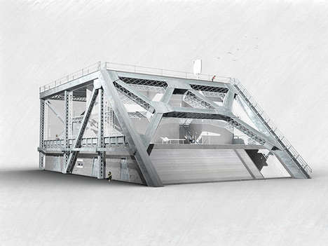 Bridge Segment Abodes - The Bay Bridge House is a Proposal Extend the Life of an Old Overpass