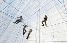 Large Geometric String Rooms