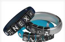 Hi-Tech Charm Bracelets - The Nex Band is a Cross Between a Pandora Bracelet and a Fuelband
