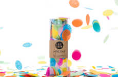 Explosive Festival Necessities - Confetti Bomb is a Whimsical Celebratory Weapon You'll Want On Hand