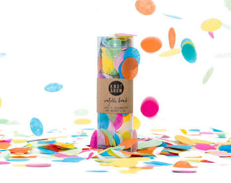 Explosive Festival Necessities - Confetti Bomb is a Whimsical Celebratory Weapon You