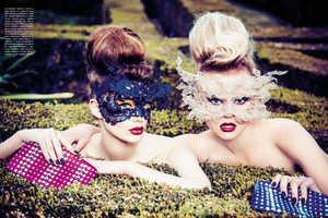 Ellen von Unwerth Captures this Vogue Italia February 2014 Shoot