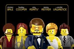 The Academy's Best Picture Nominees are Given a LEGO Makeover