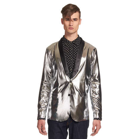 Disco Tuxedo Jackets - This Futuristic Jacket Will Get Everyone