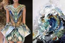 Matching Print Fashion Collages