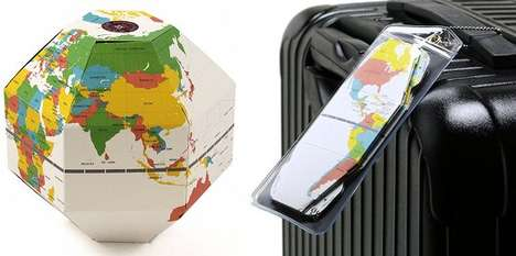 Foldable Origami Travel Globes - Carry the World in Your Pocket with the Voyage Foldable Globe