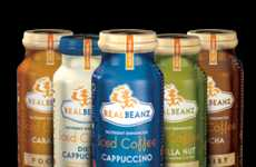 Energy Drink Coffee Beverages - The RealBeanz Coffee-Flavored Beverages Amplify Productivity