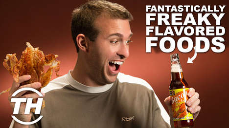 Fantasically Freaky Flavored Foods - Jamie Counts Down Her Top 5 Foods with Unusual Tastes