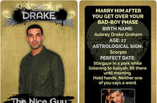 Rapper Boyfriend Trading Cards - These Rapper Boyfriend Trading Cards are Hilarious