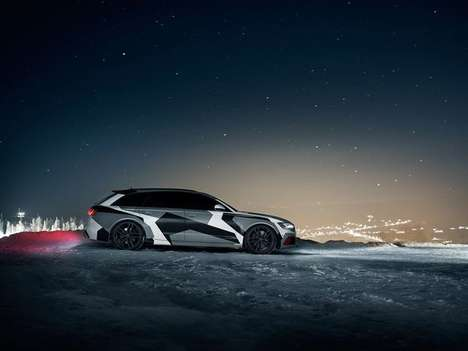 Swedish Skier Wagons - The Audi A4 Jon Olsson Camo Avant Edition Lets You Hit the Slopes in Style