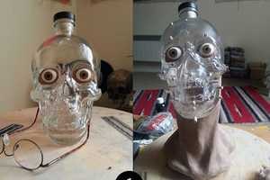 This Forensic Artist Built the Crystal Head Vodka Bottle a Face