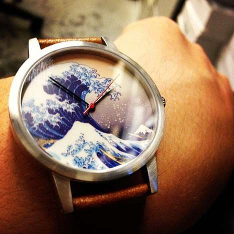 Iconic Japanese Art Watches - Show Your Love of Art with the Great Wave Watch